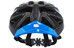 UVEX ultrasonic race Helm black mat-blue
